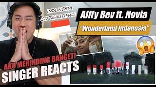 Download lagu Alffy Rev - WONDERLAND INDONESIA (ft. Novia Bachmid) | SINGER REACTION