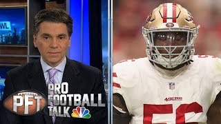 Mistake for Redskins to claim Foster after domestic violence arrest   Pro Football Talk   NBC Sports