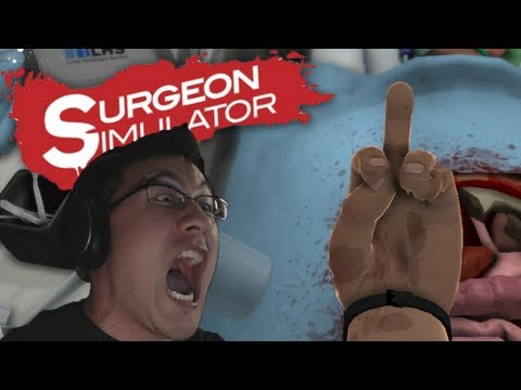Surgeon Simulator 2013 | Part 3 | BIGGEST RAGE EVER!!