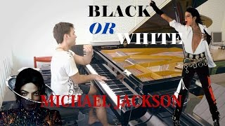 Black Or White Michael Jackson Piano Arr Peter Bence