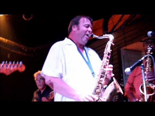 The Radiators & New Orleans Suspects Jam Session (Sax Solo) #FestByNight