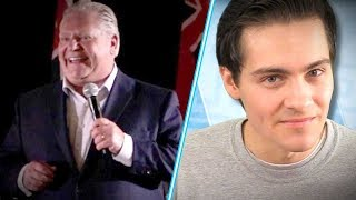 Canadian Student Journos NOT HAPPY With Doug Ford | Rob Shimshock