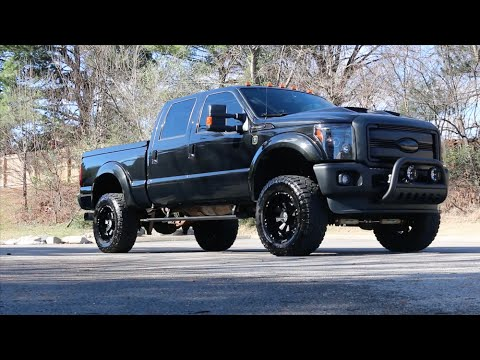 2015 Ford F350 Black Ops  Single Rear Review Walk Around