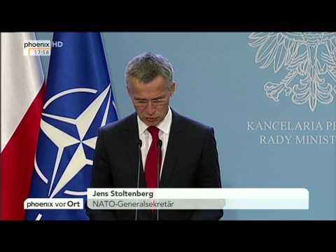 Jens Stoltenberg zur aktuellen Lage der NATO am 06.10.2014