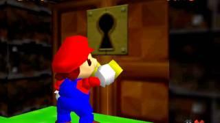 """Super Mario 74 ~ """"0 Stars"""" in 3:58""""28 by DennisBalow & ReneBalow (TAS)"""