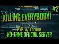 KILLING EVERYBODY! | Official 140 Player PvP No-Tame Server w/ Yocimir | Season 2 Episode 2