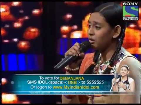 Indian Idol Junior 2013- Debanjanas mesmerizing performance