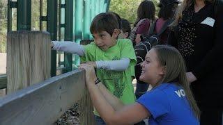 Adult Volunteers at the Houston Zoo