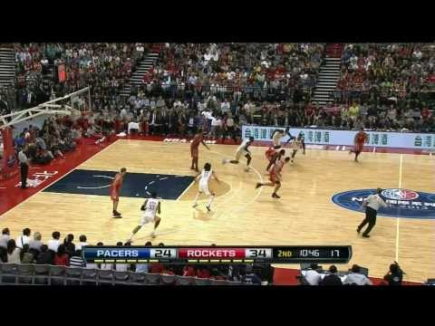 Linsanity showed the versatility in his game through the 1st half of the Rockets match-up against the Pacers. Visit nba.com/video for more highlights. About ...
