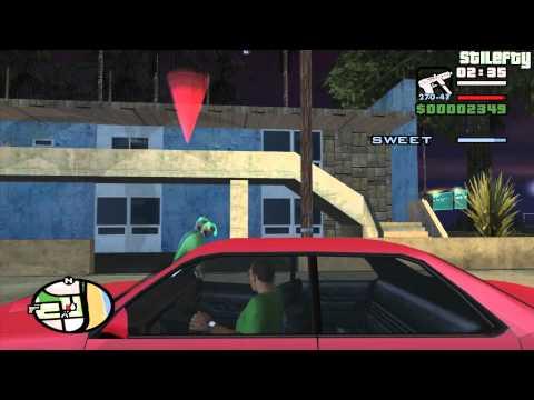 GTA San Andreas - Mission #8 - Sweet's Girl