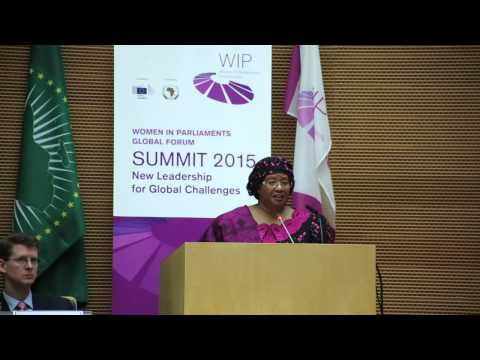 Speech by Joyce Banda, former President of Malawi, at the WIP Summit 2015