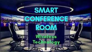 Smart Conference Room # SMART- Lights l Screen l Projector l Cooling # By Vedanta Infratech & GSS