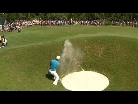 Martin Kaymer shows off his skills from bunker at THE PLAYERS