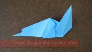 How To Make An Origami Simple Sea Dog