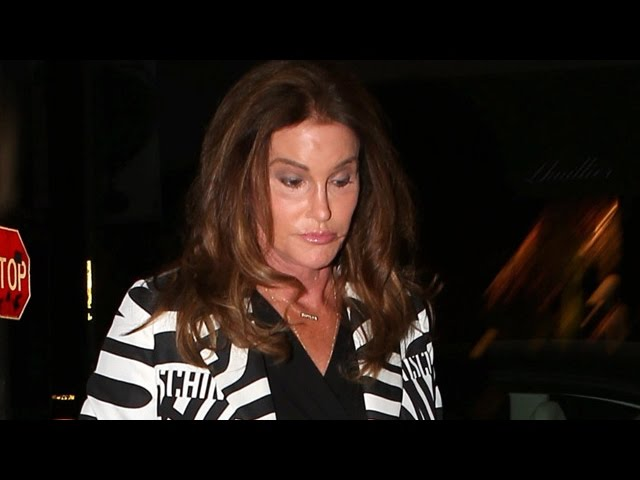 X17 EXCLUSIVE: Caitlyn Jenner Steps Out To Dinner With Candis Cayne