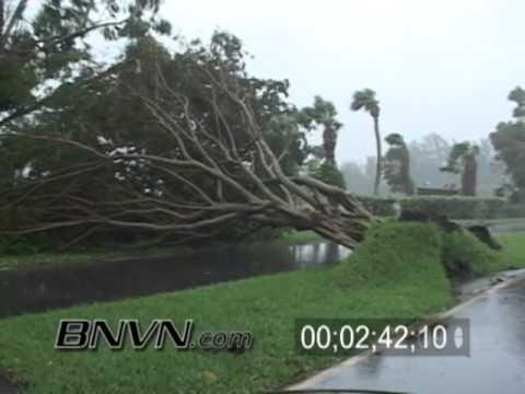 Hurricane Frances Video, Fort Pierce, FL and Hutchinson Island, FL Part 7
