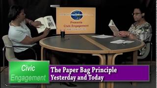 The Paper Bag Principle: Yesterday and Today