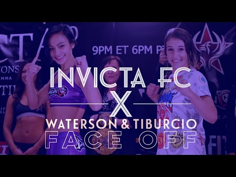 INVICTA FC 10: Atomweight Champion Michelle Waterson and Challenger Herica Tiburcio Weigh-in