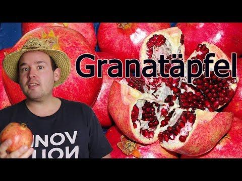 Granatäpfel: Anbau, Früchte, Gesundheit