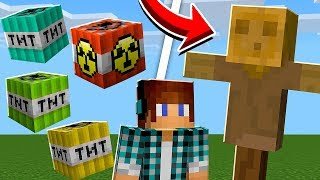 MINECRAFT: Kick the Buddy Vs TNT MOD !! (Nova TNT Minecraft)