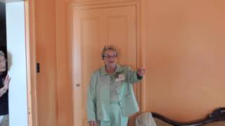 Harlan Smith describing her bedroom when she lived at the Gordon Roberts House