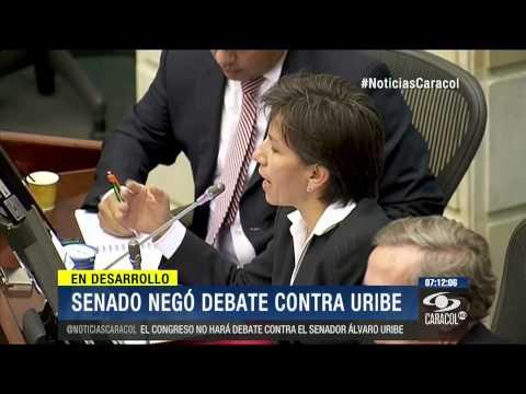 Se calienta el Senado: niegan propuesta para abrir debate contra Álvaro Uribe