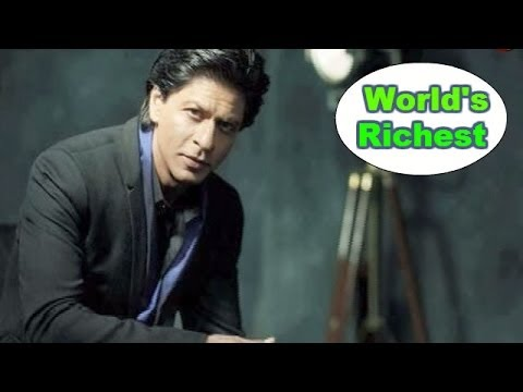 Shahrukh Khan named world's 2nd RICHEST actor