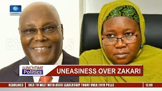 INEC Explains Stance On Amina On Zakari's Appointment |Lunchtime Politics|