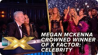 Megan McKenna sings 'It Must Have Been Love' as our WINNER | Final | X Factor: Celebrity