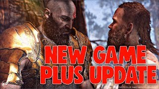God Of War : NEW GAME + UPDATE v1.30 | CAMPAIGN PLAY THROUGH + NEW ARMOR SETS!!