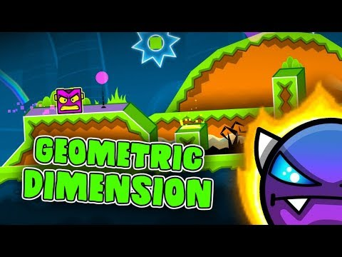 Geometric Dimension (3 Coins) - by Lemons - Geometry Dash 2.11