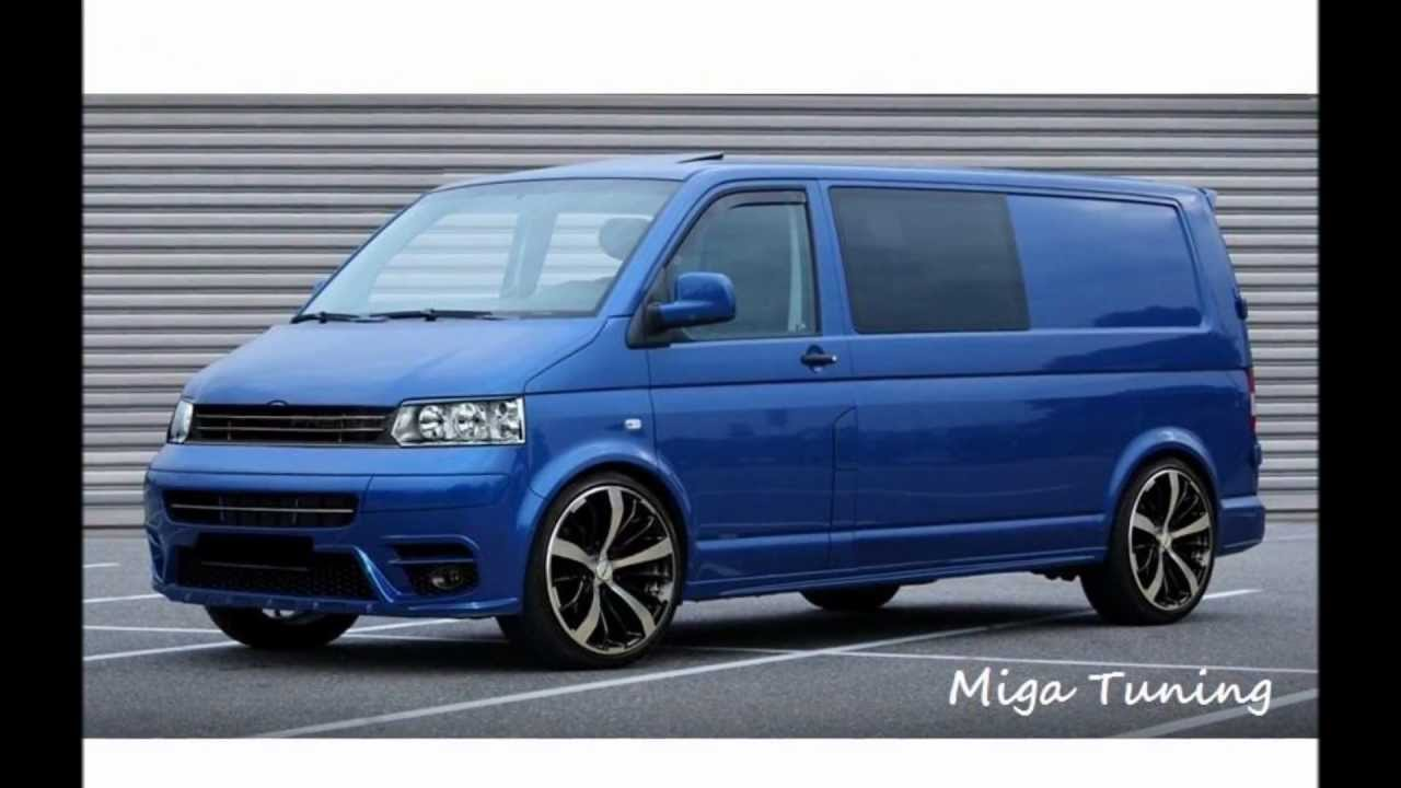 vw transporter caravelle t5 tuning body kit youtube. Black Bedroom Furniture Sets. Home Design Ideas
