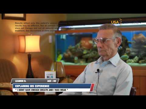 Adult Stem Cell Treatments for COPD -Real patient results, USA Stem Cells- Leon B. Testimonial