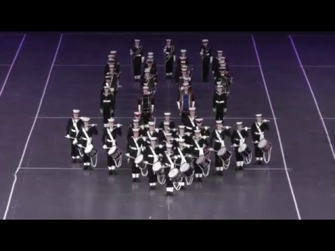 Massed Bands of the Sea Cadets - 2015 Birmingham Tattoo