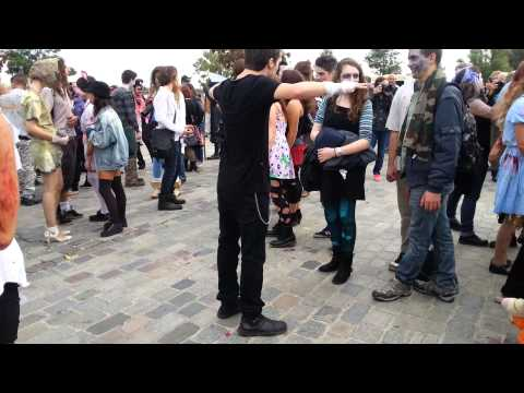 Zombie Walk Bordeaux IV 2013 Dancing Zombies
