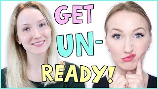 Get UNREADY with me! GESICHTSPFLEGE & ABSCHMINK Routine - TheBeauty2go