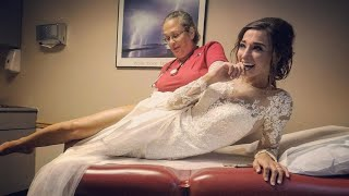 Bride Has Allergic Reaction to Flowers on Wedding Day