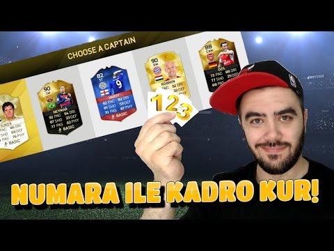 NUMARA ILE KADRO KUR - FIFA 16 FUT DRAFT