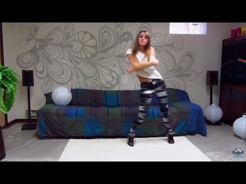 Современные и красивые танцы от очень милой девушки =)