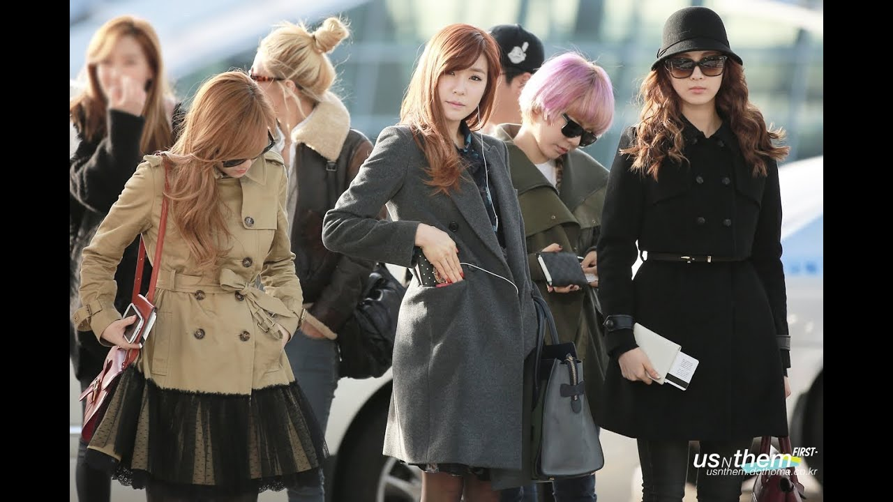 Snsd Airport Fashion Ranking Snsd Fashion Ranking