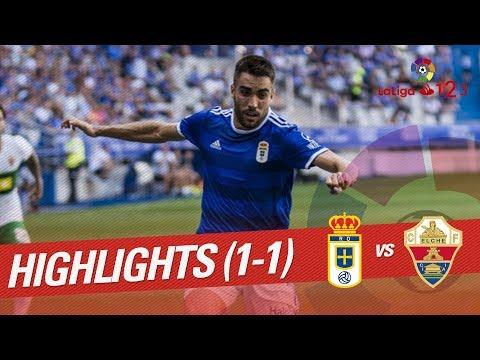 Resumen de Real Oviedo vs Elche CF (1-1)