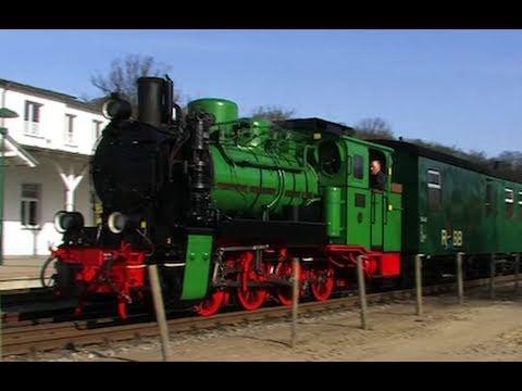 Rügen dampft 2/2 - der Rasende Roland - Dampflok / Zug