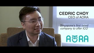 AORA - Singapore's First Listed Company Offering ICO