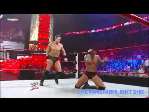 WWE - The Miz VS Randy Orton Highlights - Royal Rumble 2011 (...