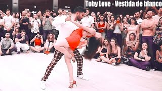 Toby Love - Vestida De Blanco /BACHATA LOVE  -  Marco Y Sara Style /  Bachataspain 2019
