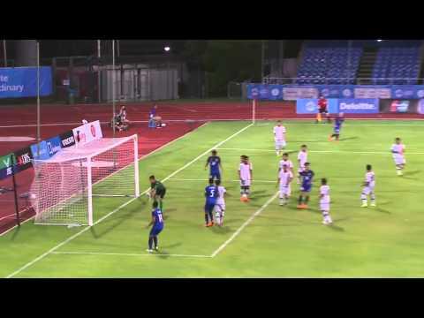 Football full match highlights Thailand vs Brunei Bishan stadium   28th SEA Games Singapore 2015 720