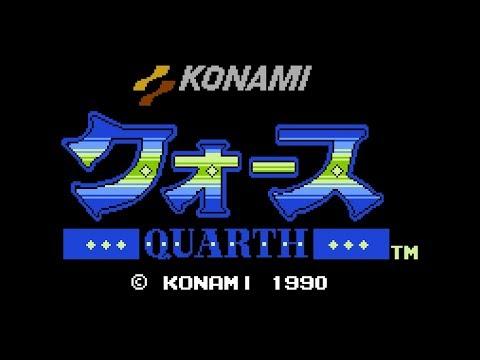 Classic Game Room - QUARTH review for Nintendo Famicom