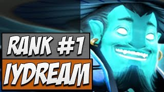 Inyourdream Storm Spirit - Rank 1 MMR | Dota Gameplay