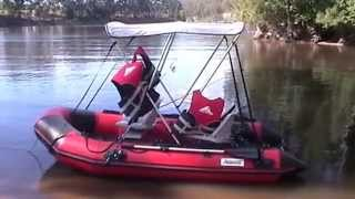 CAMPING ON RIVER/INFLATABLE BOAT