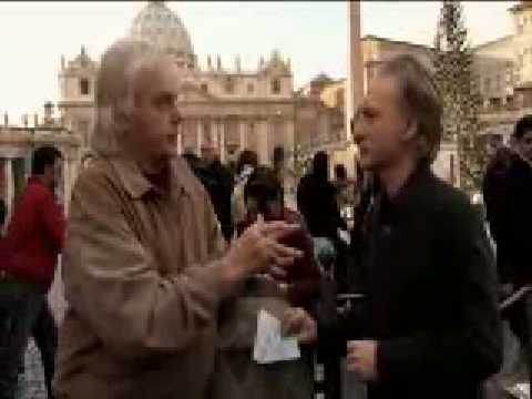 David Icke with Bill Maher in the Vatican Rome !!!!!!!!